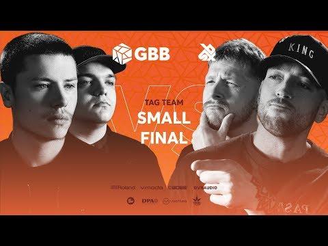 KOTCHA vs 16BITZEE |  Grand Beatbox Battle 2019 | Tag Team Small Final
