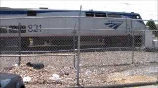 P40 821 leads the Pennsylvanian Train 43  8/16/15
