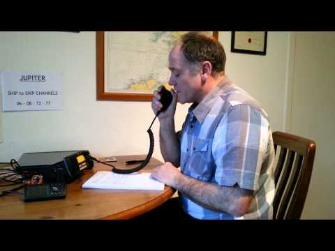 VHF Radio Distress Alert & Voice Mayday Message