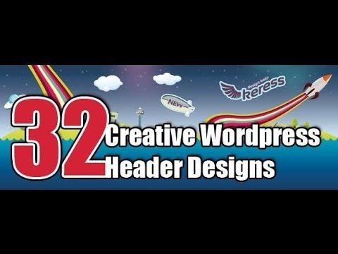 การปรับแต่ง WordPress Header ให้สวยงาม