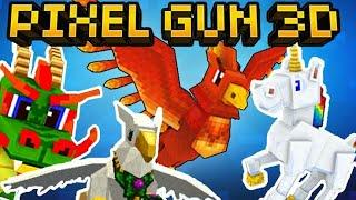 Pixel Gun 3D: Todos os Pets do jogo (Animais)