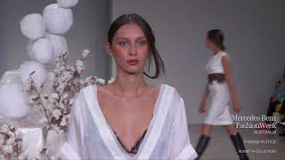 THOMAS PUTTICK MERCEDES-BENZ FASHION WEEK AUSTRALIA RESORT 19 COLLECTION
