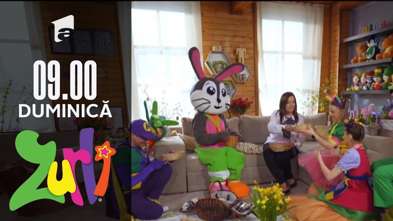 Vânătoarea de ouă de Paște. Iepurașul de Paște vine în vizită! | Casa Zurli