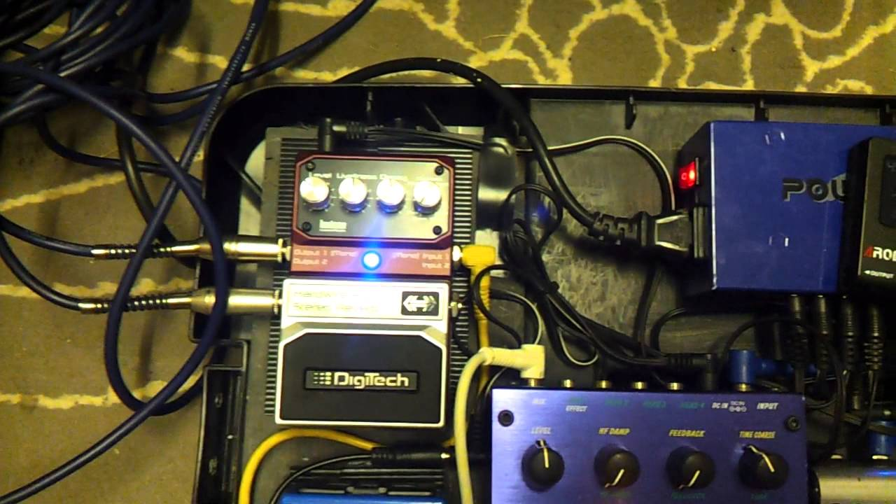 Hardwire Reverb Rv 7 Review Wire Center Fa707fmsimplifytuner88108mhzbasicradio459vdccircuitboard Digitech And Demo Youtube Rh Com