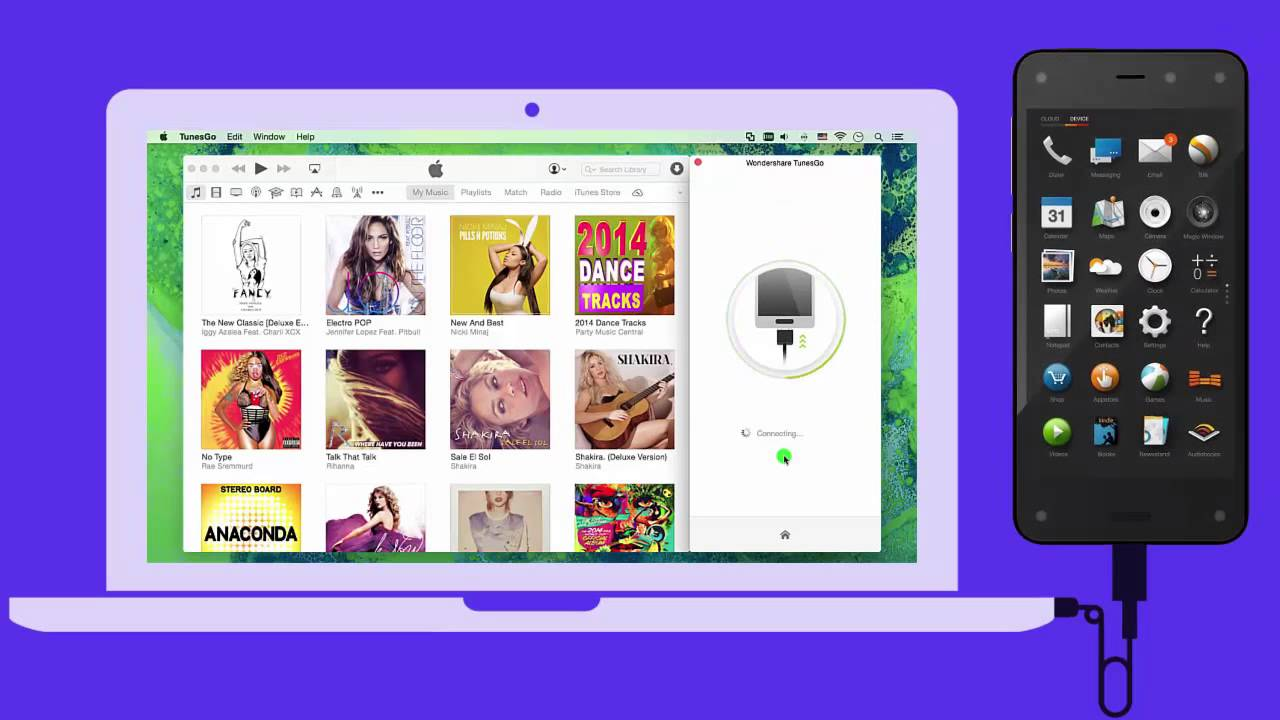 Phone How To Import Songs From Itunes To Android Phone android how to transfer itunes music amazon fire phone on mac mac
