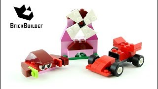 Lego Creator Red Creative Box 10707 - Lego Speed Build