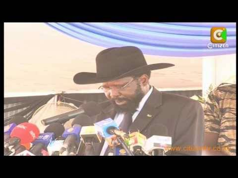 Salva Kiir Inauguration