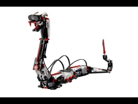 Lego Mindstorms ev3 RAPT3R Set Review&Time Lapse Building
