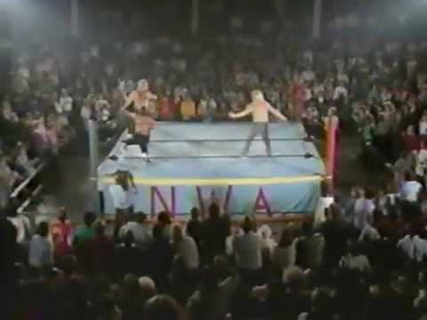 The Rock n Roll Express get attacked by The Midnight Express