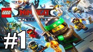 Ninjago City North | The LEGO Ninjago Movie Videogame Gameplay  Let's Play Walkthrough PC