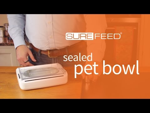 Getting Started with the SureFeed Sealed Pet Bowl
