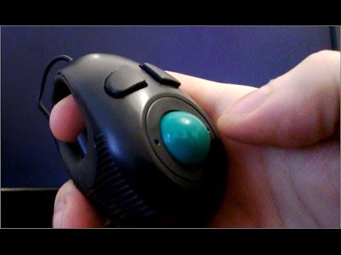 274105283b3 4D Hand-Held Trackball Mouse - Mini Finger Hand Held - YouTube