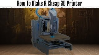 How To Make A Cheap 3D Printer(3D printers are becoming very popular amongst hobbyists and makers, but they are very expensive to own. Want to make your own 3D printer without having to ..., 2015-11-08T14:34:23.000Z)
