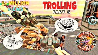 War Robots Trolling Part-5 (WAR ROBOTS FUNNY MOMENTS)