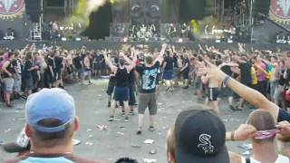 Caliban - No One Is Safe - Wall of Death - With Full Force 2010