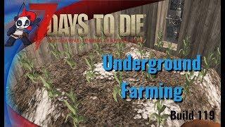 7 Days to Die | Alpha 16 | Build 119 | Bonus Video - Underground Farming!