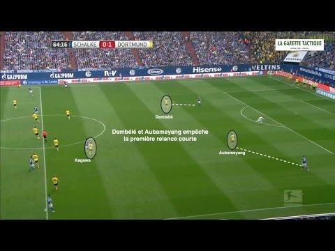 Borussia Dortmund - L'organisation du 3-4-3 de Thomas Tuchel