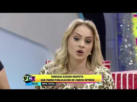vídeos intimos de famosas ecuatorianas debate en vct