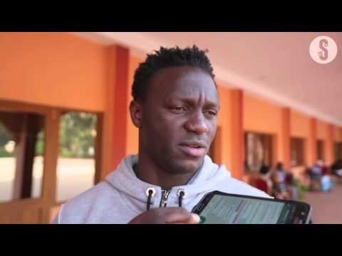 Victor Wanyama arrives in Guinea Bissau for AFCON qualifier