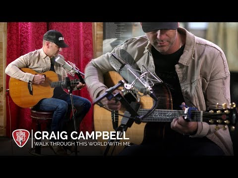 Craig Campbell - Walk Through This World With Me (Acoustic Cover) // The George Jones Sessions