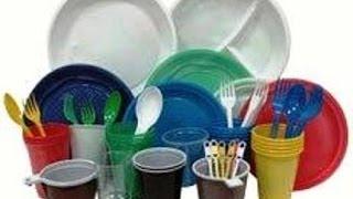 Одноразовую посуду , делают так !!!(Посуда — обобщённое название предметов быта, используемых для приготовления, приёма и хранения пищи. Вся..., 2014-01-29T19:00:06.000Z)