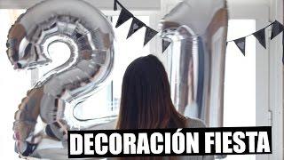 DIY: DECORACIÓN PARA FIESTAS