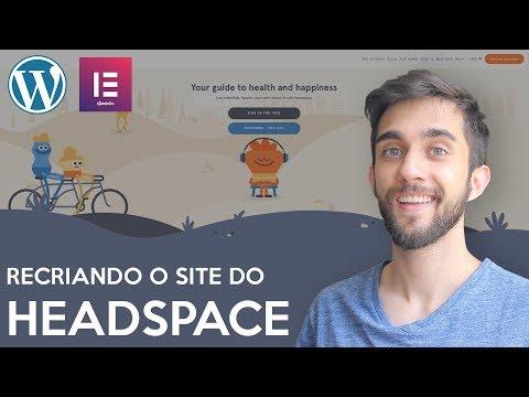 RECRIANDO O SITE DO HEADSPACE - Tutorial de Elementor thumbnail