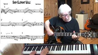 Baby Elephant Walk - Jazz guitar & piano cover ( Henry Mancini )