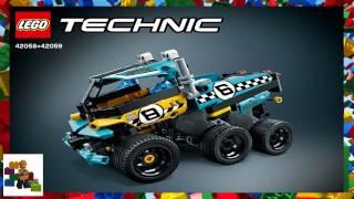 Інструкції Lego - Технік - 42058 + 42059 - потужність гонщик