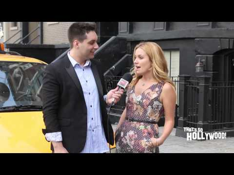 Becki Newton revaals the craziness of her character on Weird Loners