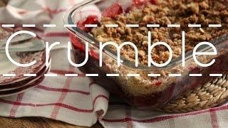 Como hacer crumble de frutos rojos - Rezetas de Carmen