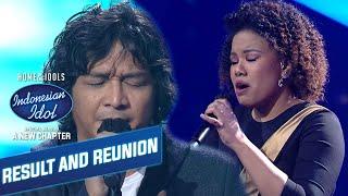 Download lagu Bikin Merinding! Ungu Feat Jemimah |  RESULT & SUPER REUNION - Indonesian Idol 2021