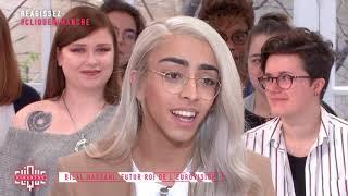 Bilal Hassani, futur roi de l'Eurovision - Clique Dimanche - CANAL+