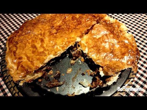 Pasta fullada amb bolets - Recepta de Cuina - per Marc Picanyol