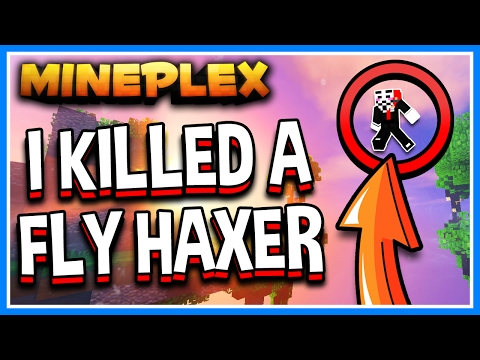 I KILLED A SKYWARS FLY HACKER!!! | Minecraft Mineplex Skywars Solo | KreekCraft