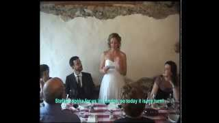 Wedding in Italy (5th May 2013)