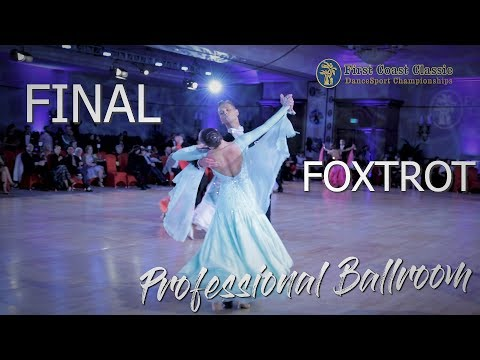 Foxtrot I Open Professional Ballroom Final I First Coast 2019