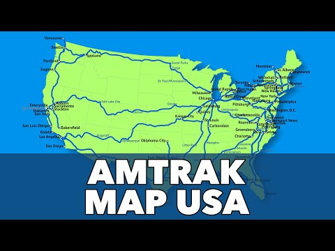 Amtrak Map USA Routes And How To Plan A Trip