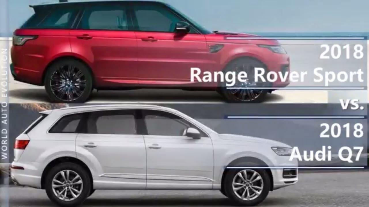2018 Range Rover Sport vs 2018 Audi Q7 (technical comparison) - YouTube