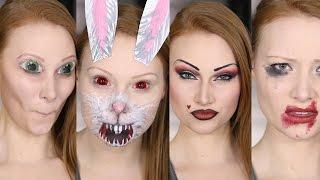 4 Snapchat Filters Makeup Tutorial/DIY (Second Set!) thumbnail