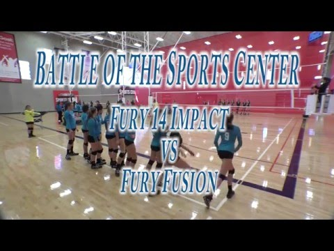 Battle of the Sports Center Fury 14 Impact vs Fury Fusion