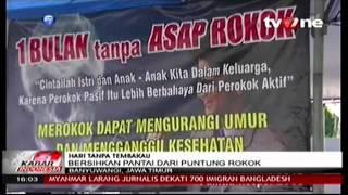 TV One - Pelepasan Tukik - 31 Mei 2015