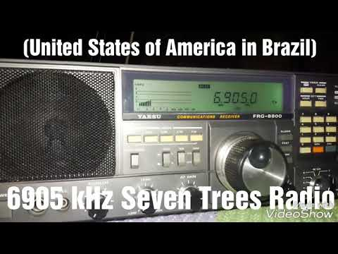 6905 kHz Seven Tree Radio (United States of America in Brazil)