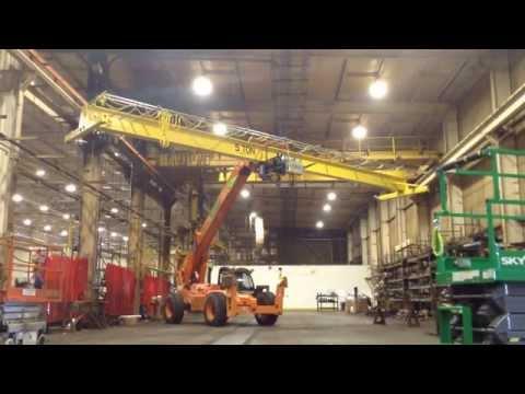 5 Ton crane install