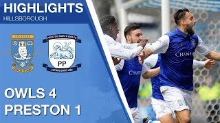 Sheffield Wednesday 4 Preston North End 1 | Extended highlights | 2017/18
