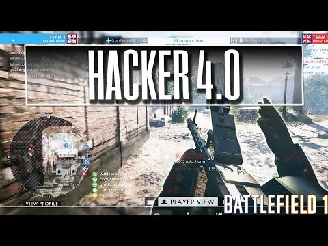 Spectating a Hacker in Battlefield 1 (DicePls)