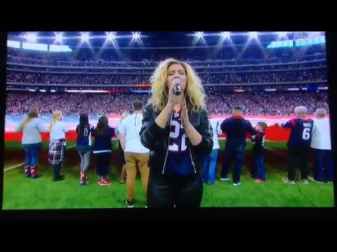 Tori Kelly Singing The National Anthem