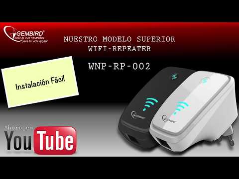 Wireless-N WIFI repeater for WLAN - WPS function - 300 Mbps