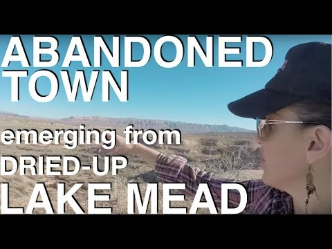 Abandoned St. Thomas Ghost Town at the Bottom of Lake Mead