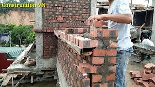 Professional wall construction techniques | Construction VN